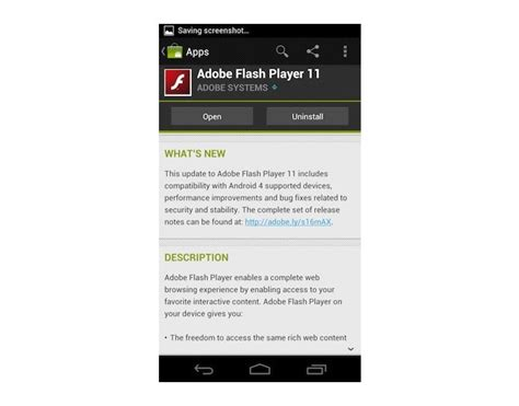 adobe flash player 11 1 for android adobe flash player 11 1 now supports android 4 0 sandwich