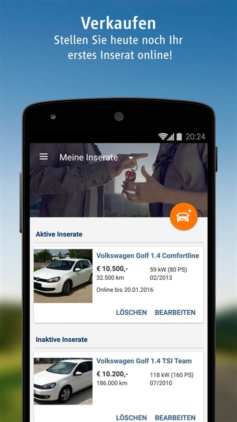 autoscout24 mobile autoscout24 mobile autosuche de apps f 252 r android