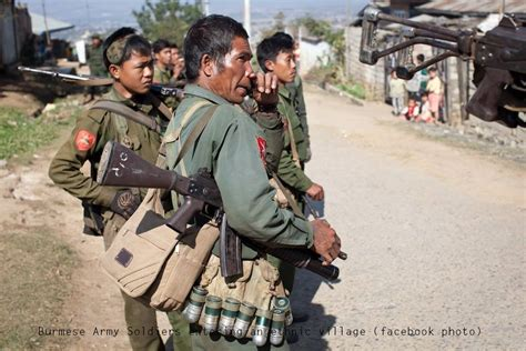 What Does Kia In The Army Tension Rises As Burmese Army Attacks Kia Frontline Posts
