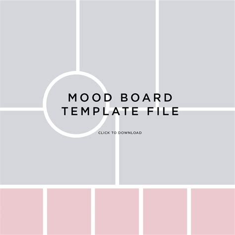 Creating A Mood Board Fancy Girl Designs Mood Board Illustrator Template