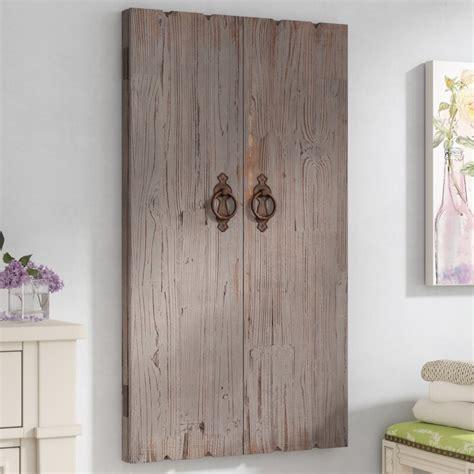 lark manor ilias wooden wall storage cabinet jewelry