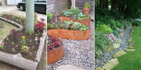 Diy Garden Edging Ideas 20 Cheap Creative And Modern Garden Edging Ideas