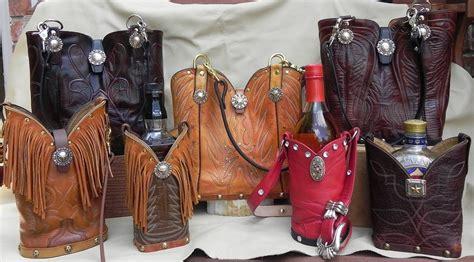 bar top accessories double single barrel boot purses boot top clutches wine totes bar top