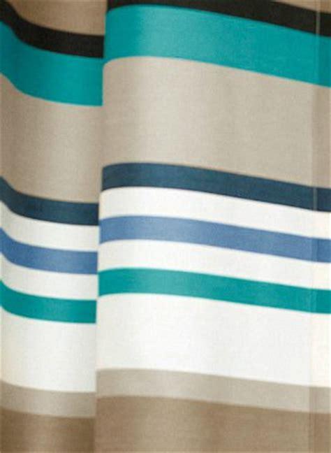 gardinen braun weiß gestreift schlafzimmereinrichtung braun