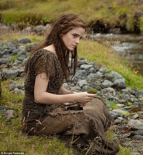 emma watson movies emma watson has a make under for upcoming biblical movie