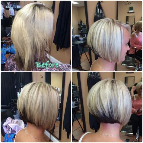 bob hairstyles with color underneath blonde asymmetrical hair colors ideas