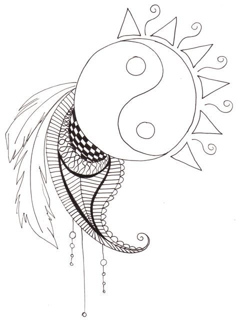 printable coloring pages yin yang free coloring pages for adults