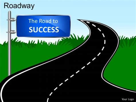 success powerpoint templates optimus 5 search image road to success