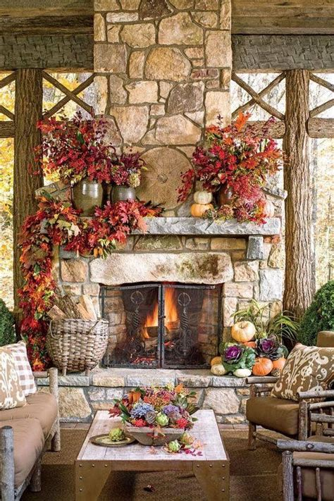 fireplace mantel decorating ideas for fall 212 best fall mantle decorating ideas images on