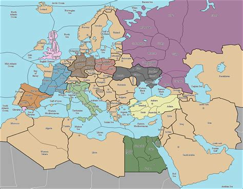 map of europe and middle east europe and the middle east map