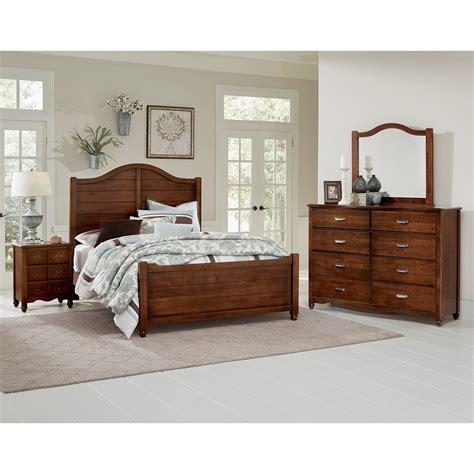Bassett King Bedroom Sets by Vaughan Bassett American Maple King Bedroom