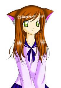 anime cat people drawings images amp pictures becuo