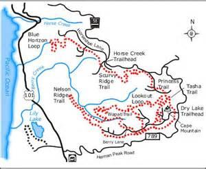 cground map oregon images