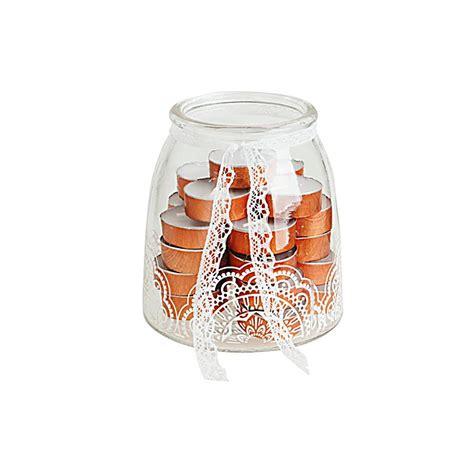 teelichter glas teelichter im glas 26 teiliges set bestellen weltbild de