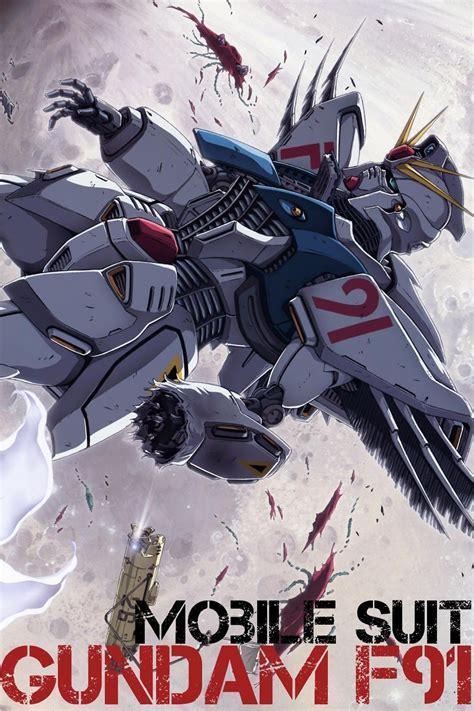 Film Anime Gundam | mobile suit gundam f91 anime film review mysf reviews
