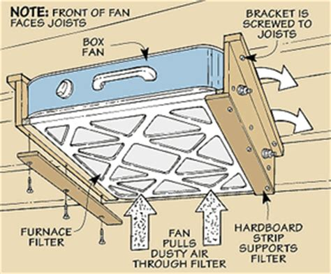 box fan filter woodworking box fan filter