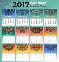 18 Month Desk Calendar Dise 241 O De Calendario 2017 Mensual Para Imprimir Con Los