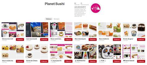 planet sushi siege social pour votre restaurant