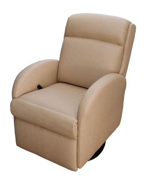small recliner for rv lambright lazy lounger small recliner glastop inc