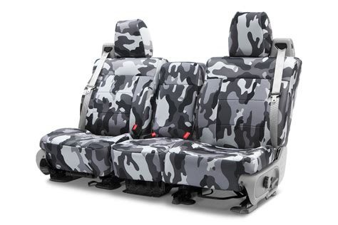 snow camo car seat covers caltrend camouflage seat covers 5 patterns zozeen