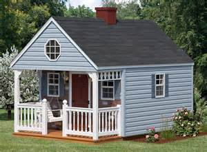 Backyard Cottage Kits Playhouses Backyard Cabin Backyard Cabin 10x10 To