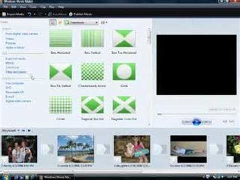 windows movie maker tutorial slideshow create a cool slide show in windows movie maker youtube