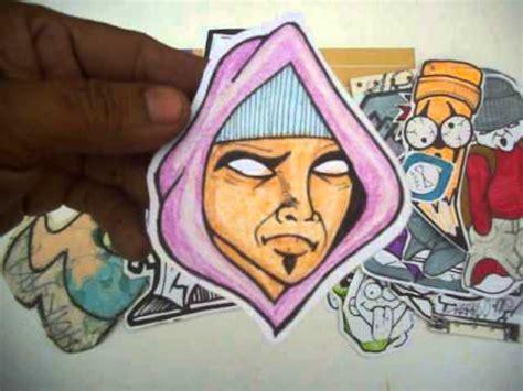 graffiti stickers cool characters  cholowiz