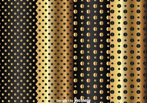 pattern dots gold gold and black dot pattern download free vector art