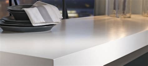 White Solid Surface Countertops by Kitchen Countertop Buying Guide