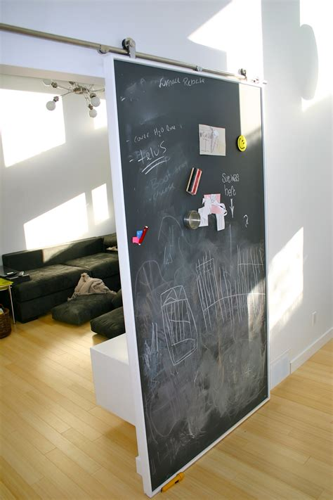 Chalkboard Sliding Closet Doors Barn Door Rectangle