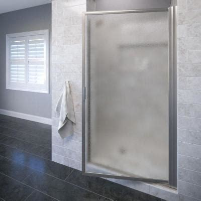 basco deluxe 34 7 8 in x 67 in framed pivot shower door