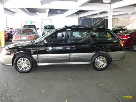 subaru outback black 2003 black granite pearl subaru outback h6 3 0 wagon