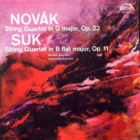 novak suk string quartet   major op  string