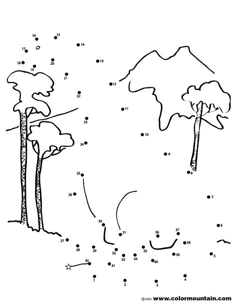 dinosaur dot to dot coloring page create a printout or