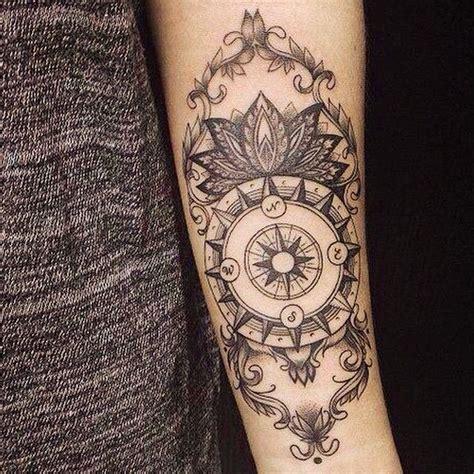 feminine compass tattoo designs best 25 feminine compass ideas on