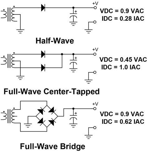 rectifier wiring diagram for teseh rectifier circuit