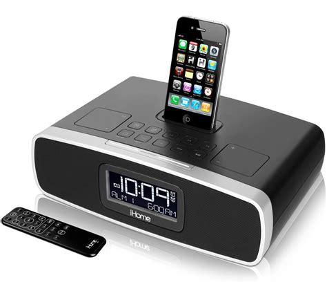 ihome ip dual alarm clock radio   iphoneipod
