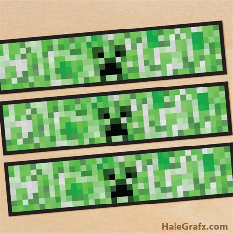 minecraft bottle labels free printable minecraft creeper