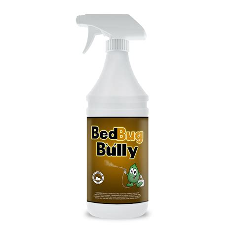 bed bug bully natural bed bug spray  oz
