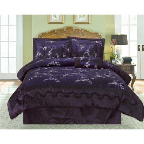 cheshire cat comforter bedroom gray and dark purple king size bedding set feat