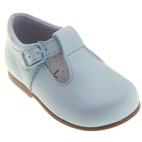 leather baby shoes baby blue leather shoes for walker cachet