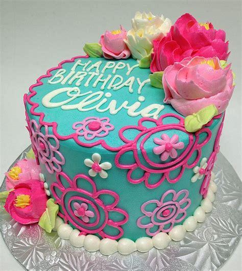 design flower cake best 25 buttercream birthday cake ideas on pinterest