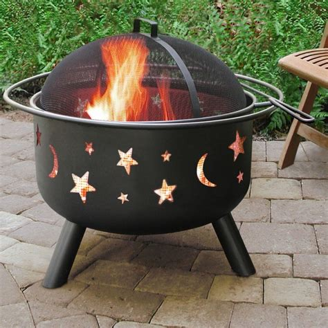 firepit wood belleze outdoor firepit wood burning pit