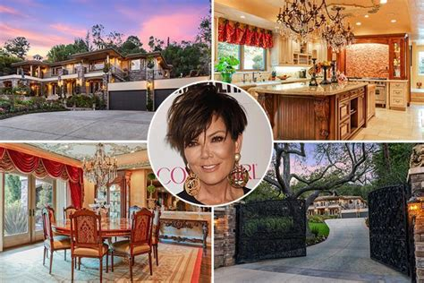 kris jenners house kris jenner s keeping up with the kardashians home is on