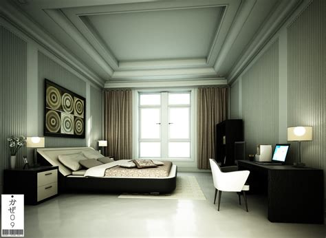 Modern Classic Bedroom Design Modern Classic Bedroom 02 By Kaze09 On Deviantart