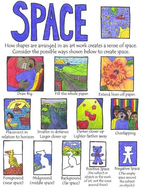 design elements pinterest space art projects for kids childrens art lessons