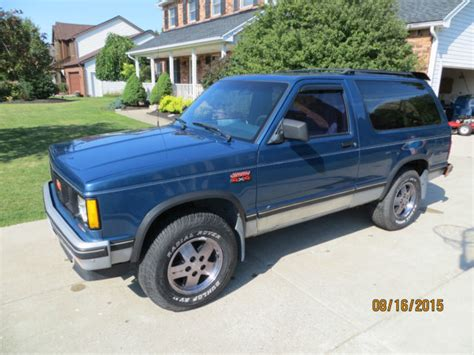 gmc jimmy 2 door 1990 gmc chevrolet s15 s10 s 10 s 15 jimmy 2 door 4 3 4x4