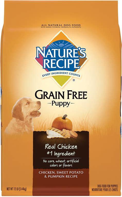 nature s recipe grain free food nature s recipe grain free puppy chicken sweet potato pumpkin recipe food