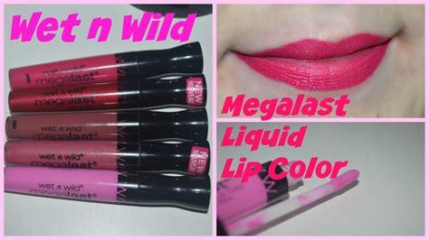 n megalast liquid lip color n megalast liquid lip color review swatches