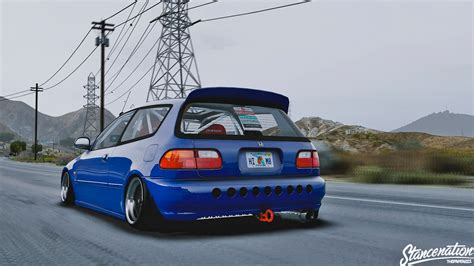 honda civic  stance tuning replace gta modscom